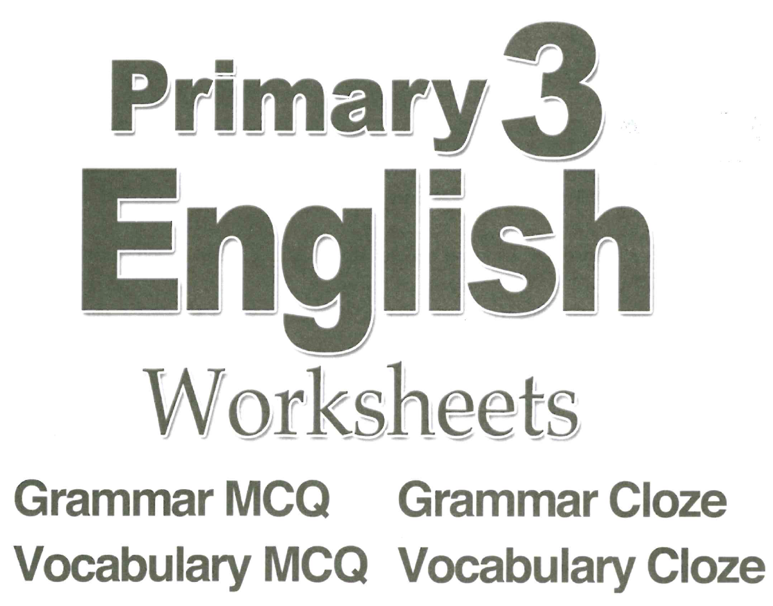 Primary 3 Workbook