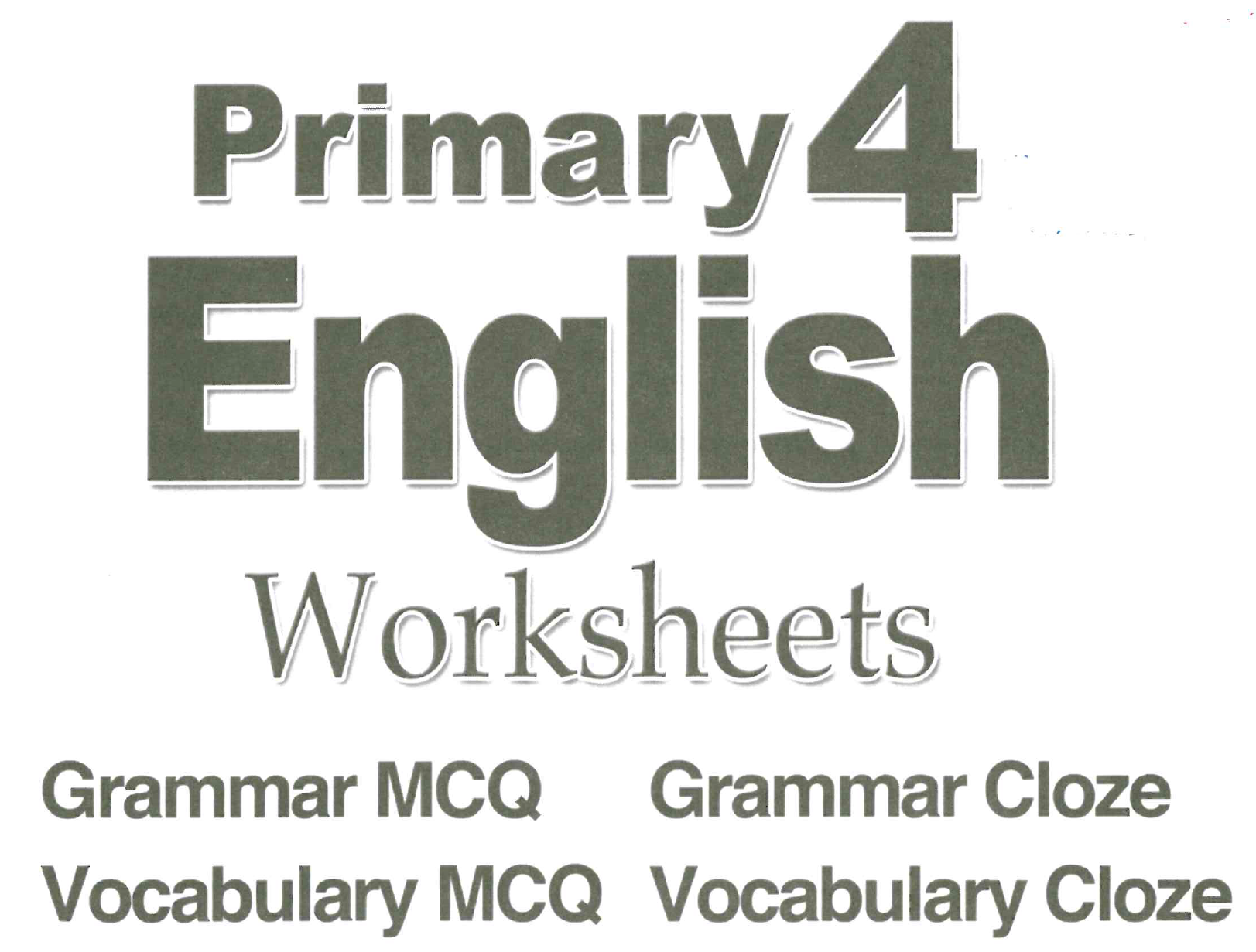 Primary 4 English Assessment Book